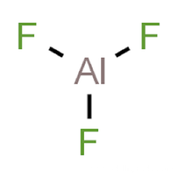 fluoride aluminum dot diagram